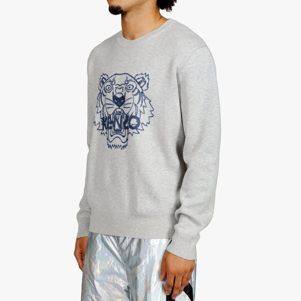 Tiger Icon Knit Sweater