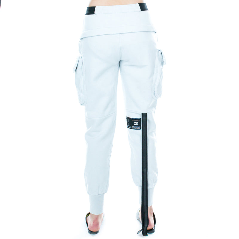 T-Brushed Cargo Dropcrotch Pants