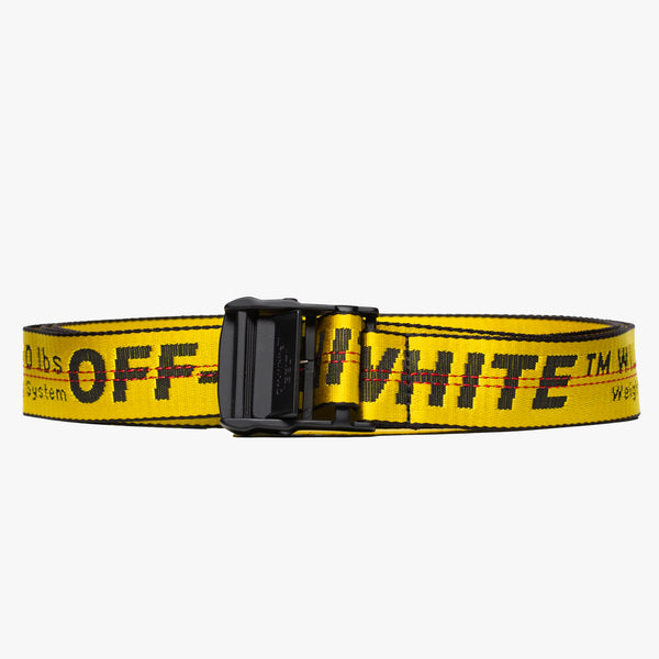 Classic Yellow Industrial Belt