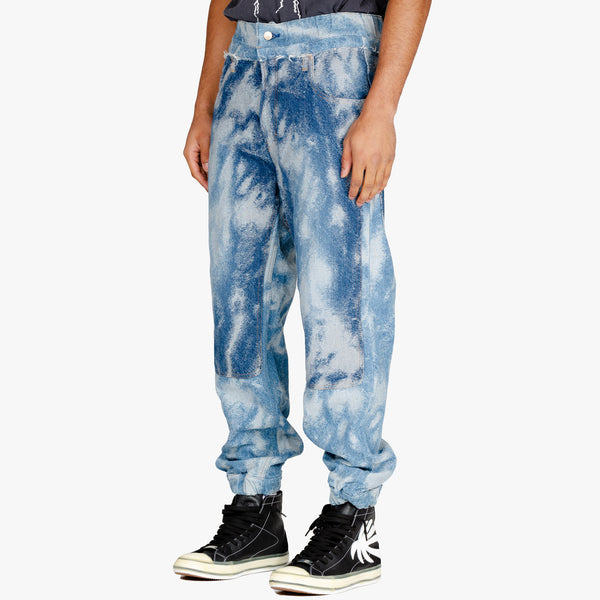 Jacquard Denim Hybrid Pants