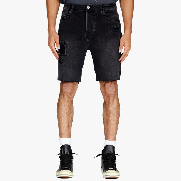 Chopper Denim Shorts