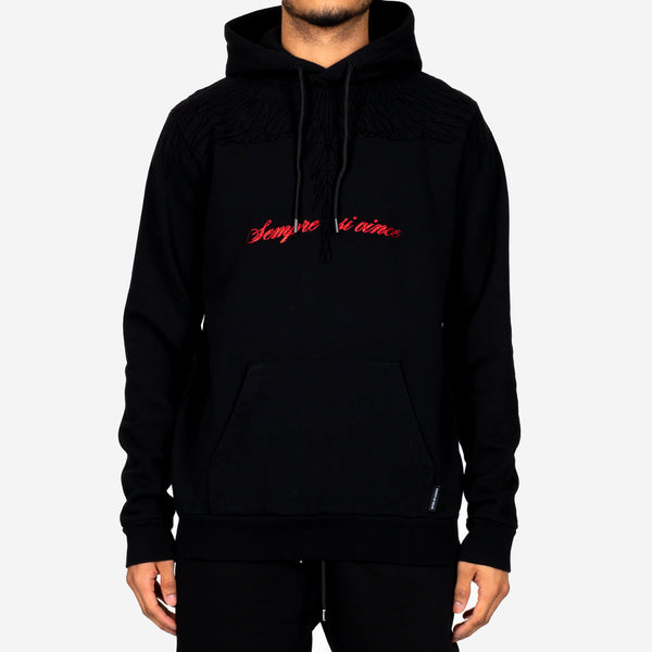 Wings Lettering Hoody