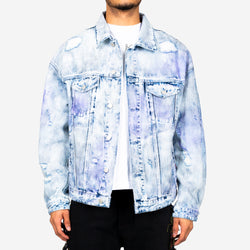 Logan Tweed Denim Jacket