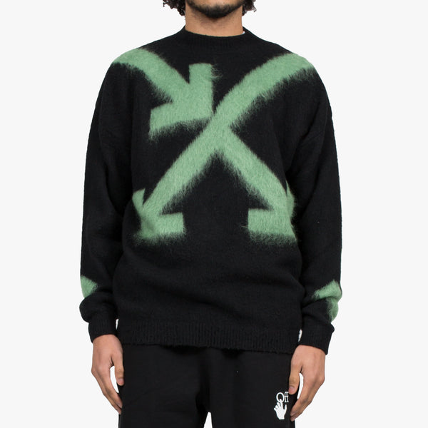 Fuzzy Arrows Sweater