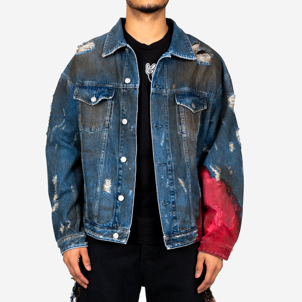 Wyatt Dip Dyed Denim Jacket