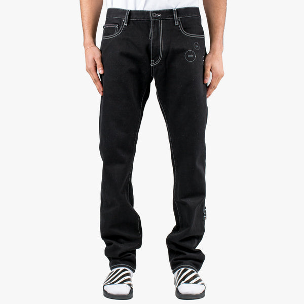 Cut Here Slim Jeans