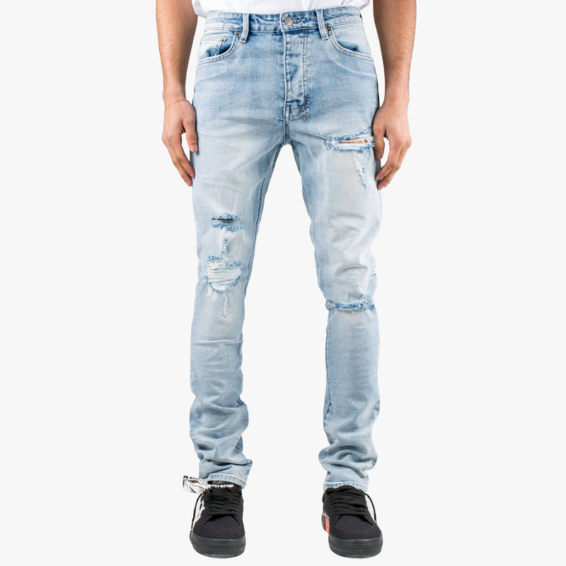 Chitch Punk Blue Thrashed Jeans
