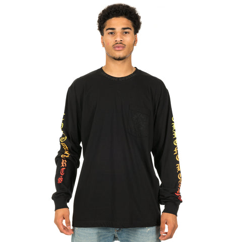 Gradient Horseshoe Long Sleeve T-Shirt