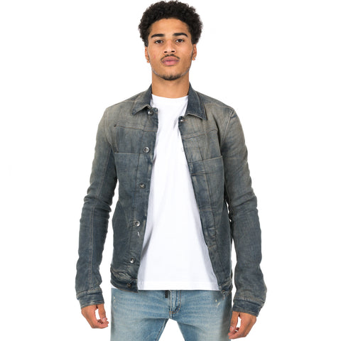 Denim Padded Lab Jacket