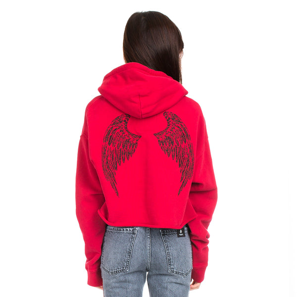 City of Angels Cropped Hoody