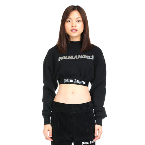 Precious Cropped Logo Sweater