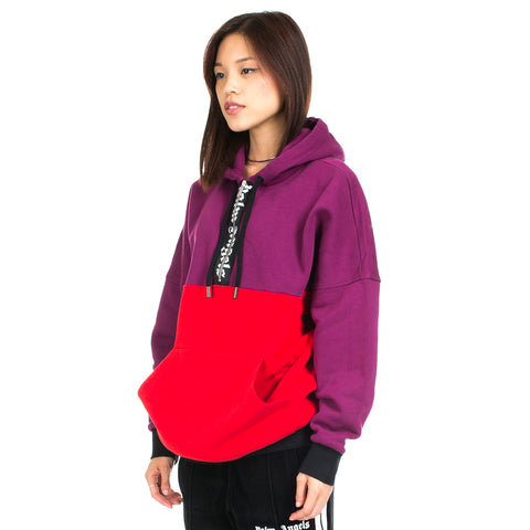 Two Colours Logo Oversize Hoody