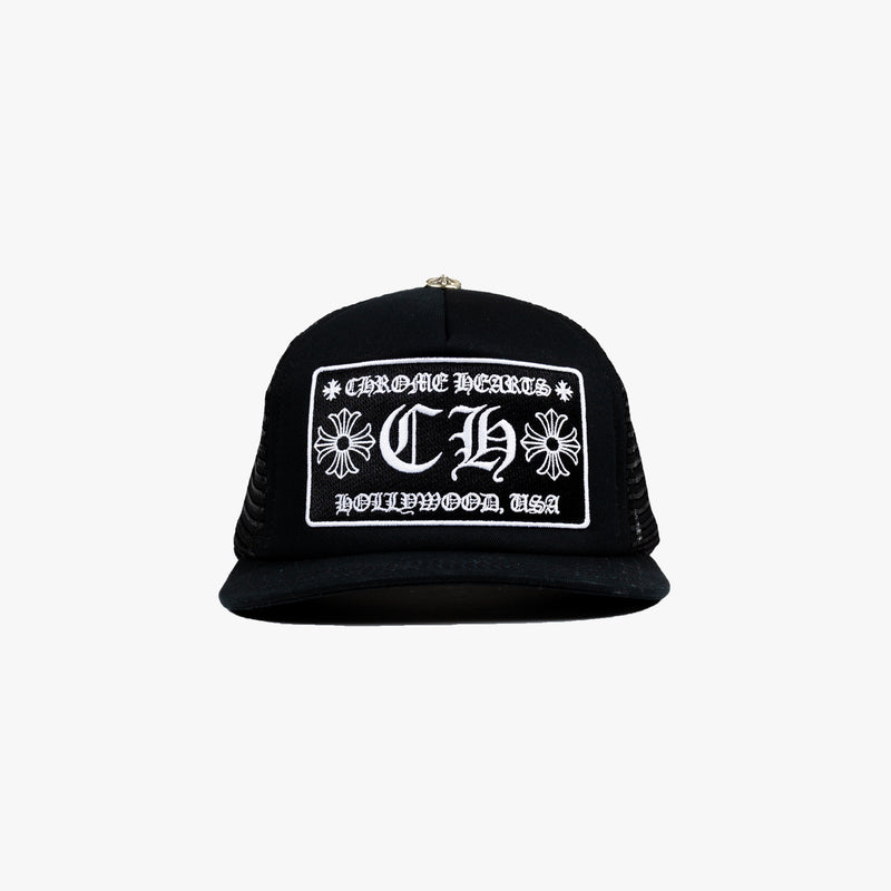 CH Patch Black Trucker Cap