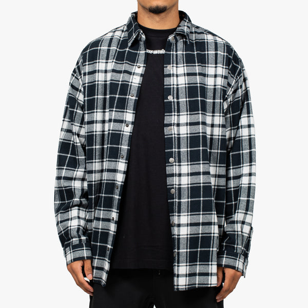 Stereo Black Check Shirt
