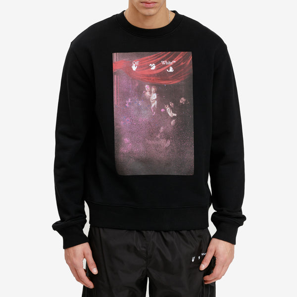 Sprayed Caravaggio Slim Sweatshirt
