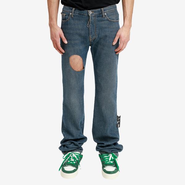 Hand Off Pocket Skinny Jeans