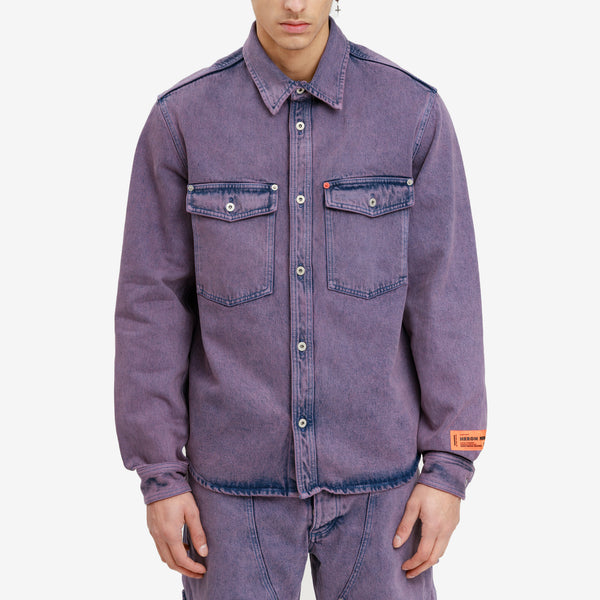 Over Dyed Denim Shirt