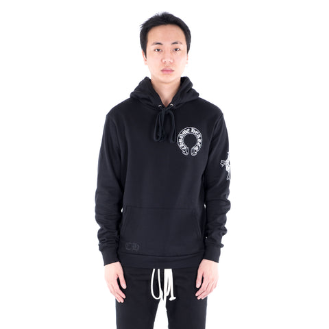 Vine Cross Fleece Hoody