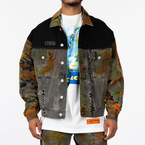Tye Dye Denim Jacket