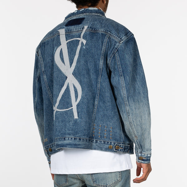Fancy Dollar Jean Jacket