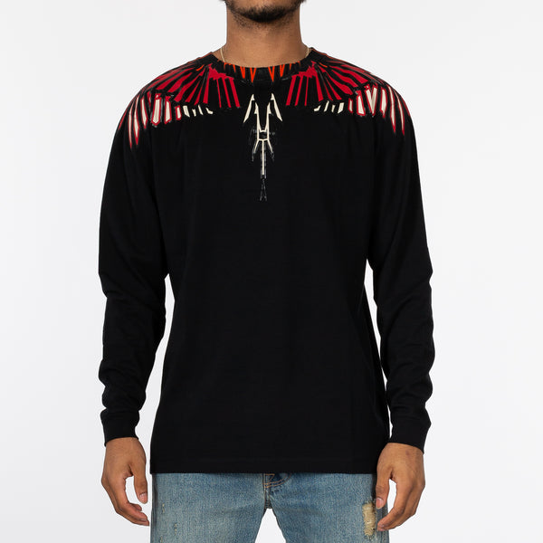 Geometric Wings Long Sleeve Tee