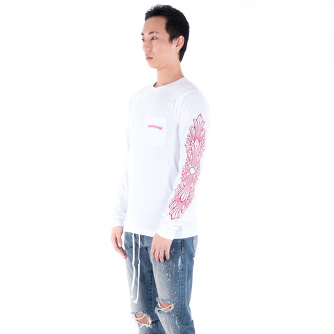 Tonal Horseshoe Long Sleeve Tee