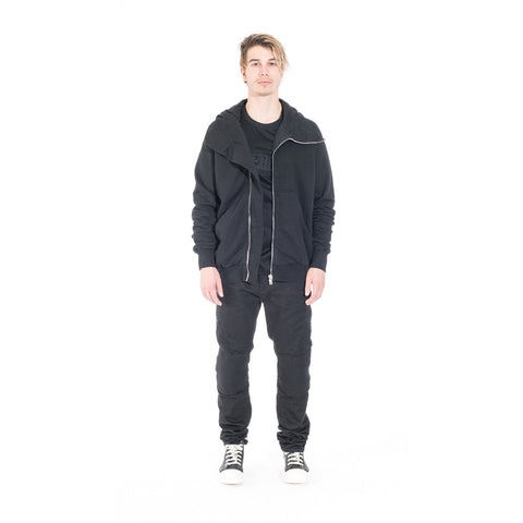 Rick Owens DRKSHDW Bullet Hoody at Feuille Luxury - 8