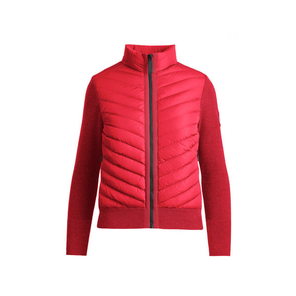 Ladies Hybridge Knit Jacket
