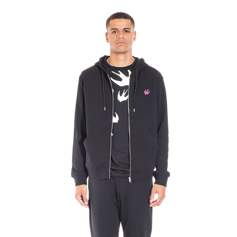 Alexander McQueen McQ Clean Zip Up Hoody at Feuille Luxury - 1