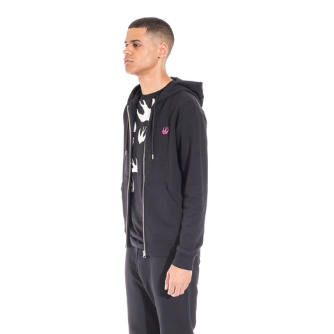 Alexander McQueen McQ Clean Zip Up Hoody at Feuille Luxury - 3