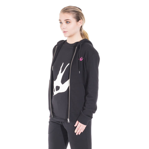 Alexander McQueen McQ Clean Zip Up Hoody at Feuille Luxury - 5