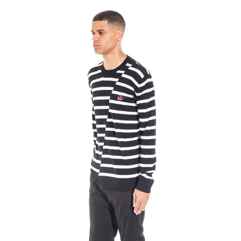 Alexander McQueen McQ Distorted Stripe Sweater at Feuille Luxury - 5