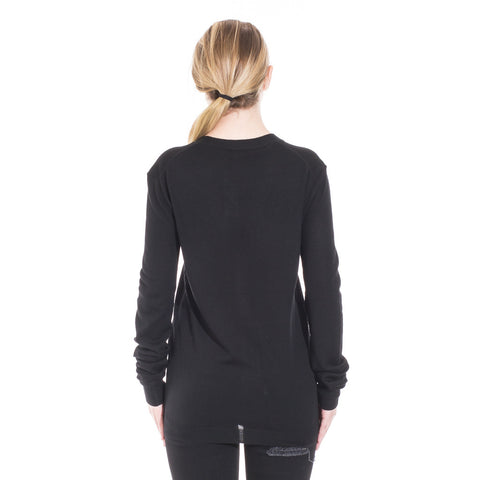 Alexander McQueen McQ Swallow Knit Cardigan at Feuille Luxury - 4