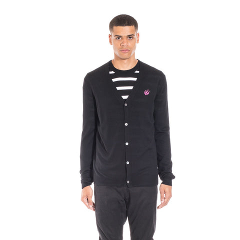Alexander McQueen McQ Swallow Knit Cardigan at Feuille Luxury - 2