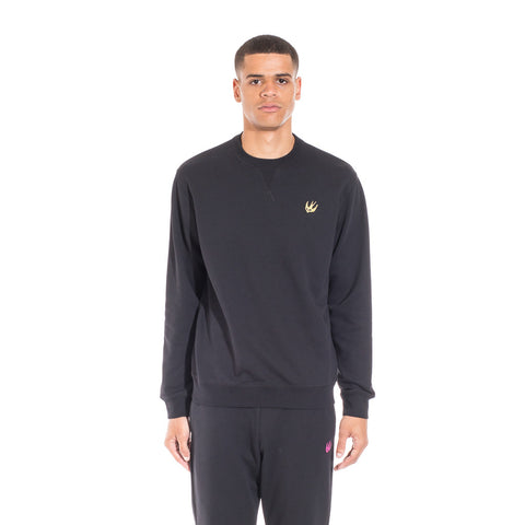 Alexander McQueen McQ Swallow Coverlock Sweater at Feuille Luxury - 1