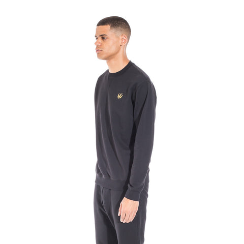 Alexander McQueen McQ Swallow Coverlock Sweater at Feuille Luxury - 3