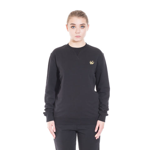 Alexander McQueen McQ Swallow Coverlock Sweater at Feuille Luxury - 2