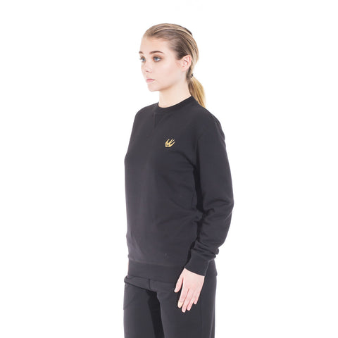 Alexander McQueen McQ Swallow Coverlock Sweater at Feuille Luxury - 5