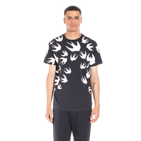 Alexander McQueen McQ Swallow Warm Eyes Tee at Feuille Luxury - 1