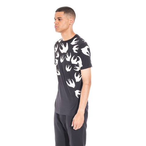 Alexander McQueen McQ Swallow Warm Eyes Tee at Feuille Luxury - 3