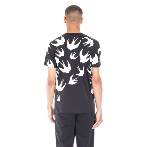 Alexander McQueen McQ Swallow Warm Eyes Tee at Feuille Luxury - 4