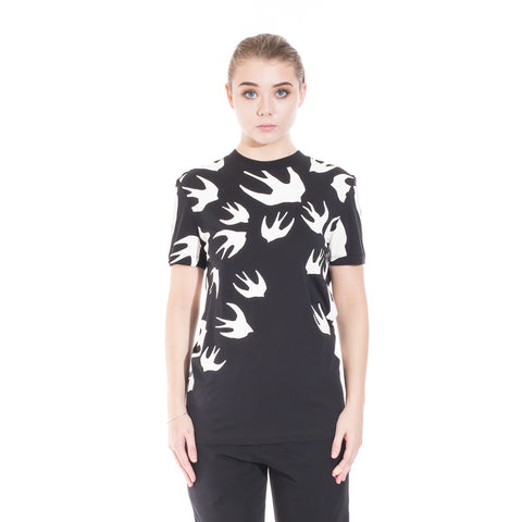 Alexander McQueen McQ Swallow Warm Eyes Tee at Feuille Luxury - 2
