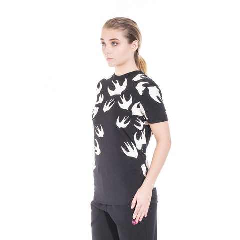 Alexander McQueen McQ Swallow Warm Eyes Tee at Feuille Luxury - 5