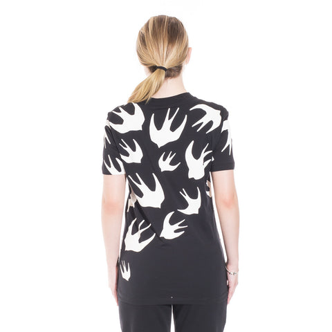 Alexander McQueen McQ Swallow Warm Eyes Tee at Feuille Luxury - 6