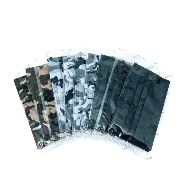 4-Ply Assorted Camo Protective Mask