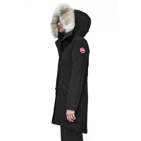 Canada Goose Ladies Rossclair Parka at Feuille Luxury - 4
