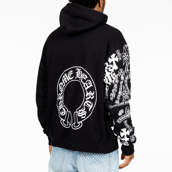 CH Logo Sleeve Pull Over Hoody