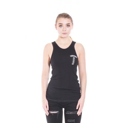 Chrome Hearts CH Vine Cross Tank Top at Feuille Luxury - 1