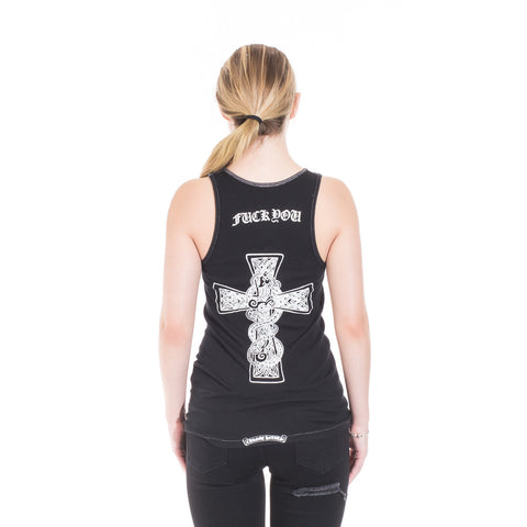 Chrome Hearts CH Vine Cross Tank Top at Feuille Luxury - 3