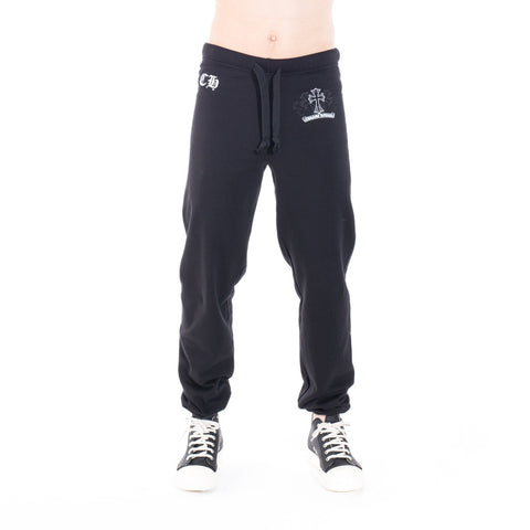 Chrome Hearts Unisex Cross Scroll Sweatpants at Feuille Luxury - 1